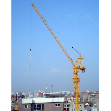 Construcción Edificio Jack Up Luffing Tower Crane Derrick