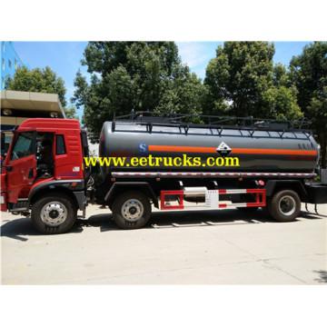 FAW 15 CBM Sodium Hydroxide Tanker Trucks