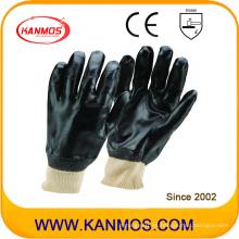 Anti-ácido de seguridad industrial de trabajo de mano guantes de PVC (51203J)