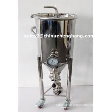 Fermentation en acier inoxydable Fermenter Brewing Equipment Fermentation Tank