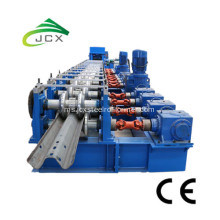 W logam beam Crash barrier machine