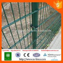 ISO9001 2D Welded Double Horizontal Wire Valla \ 868 cerca de alambre \ 656 valla de alambre doble