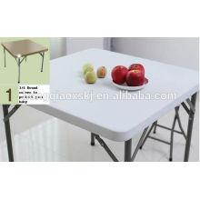 Складной стол из ротанга
