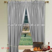 Paire de barres de 24 couleurs 100% Polyester Plain Blackout Curtains Nursery