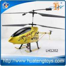 Nuevo llega el helicóptero grande de la aleación RC 3.5Ch del color del oro con la luz