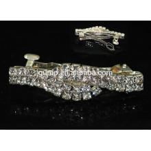 Silver Rhinestone Hairgrip Accessoires pour cheveux Glitter Crystal Barrette