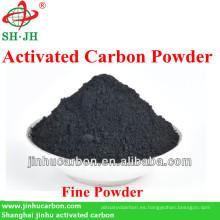 Fuerte polvo de carbono decolorante para refinación de jarabe