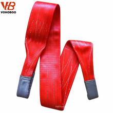 construction lifting tools polyester belt type flat webbing sling