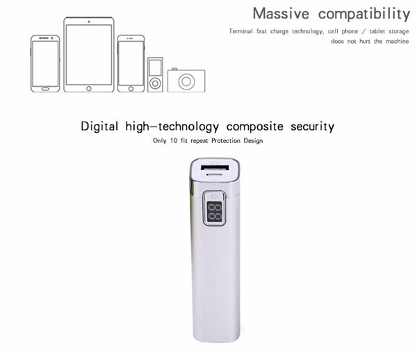 Small Best Portable Battery Charger Mobile Powerbank