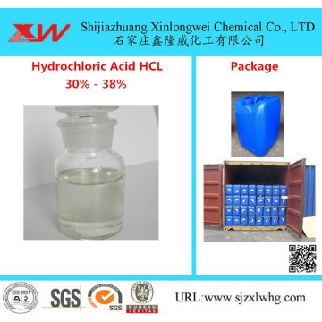 Food Grade waterstofchloride HCL zoutzuur