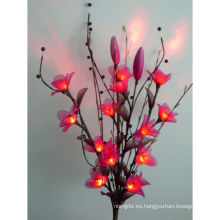 Nuevo estilo LED Artificial Flower Custom Color