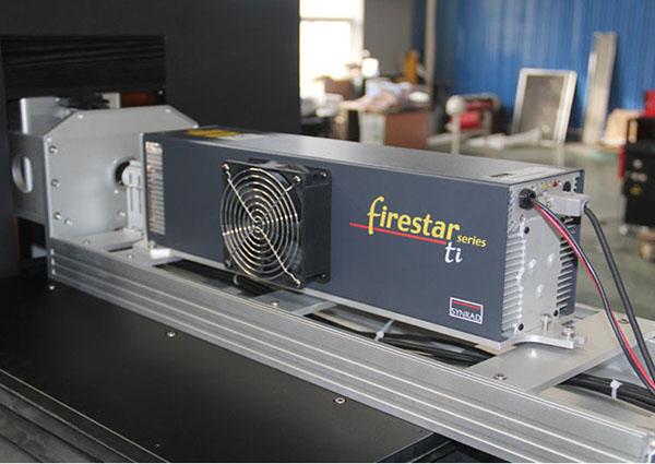 Synard tube co2 laser marking machine
