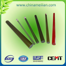 Varilla aislada de alto voltaje, barra de epoxy reforzada con fibra de vidrio