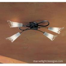 Iron-art lamp