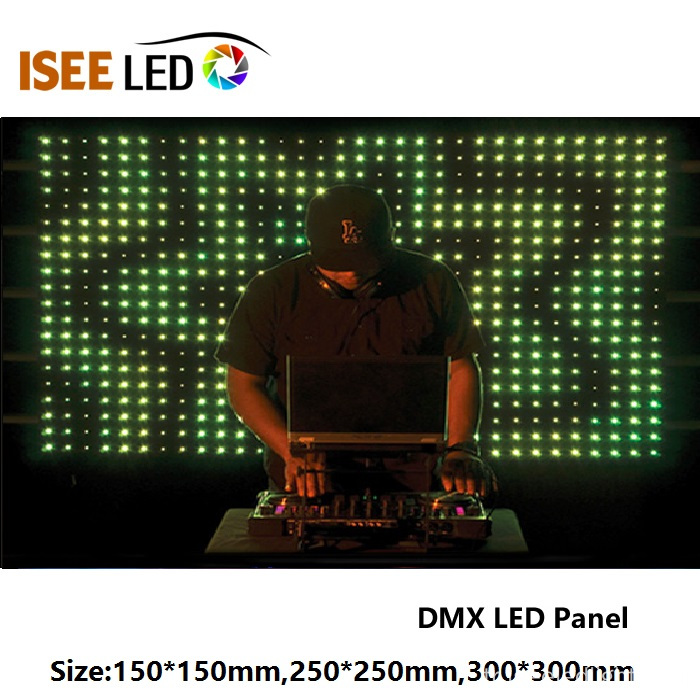 300 * 300mm RGB DMX Video LED Panel Işığı