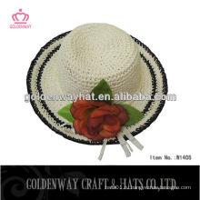 Бумажная соломенная шляпа гибкие солнцезащитные шапки для украшения