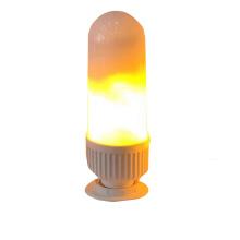Creative desgin E27 B22  free sample led fire bulb 3w  4 Modes Flame Lights Bulbs  E27 Base Fire Light Bulb