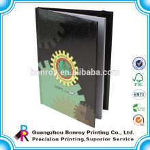 Custom printed cheap bulk notebooks with elastic band