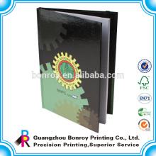 O costume imprimiu cadernos de volume baratos com faixa elástica