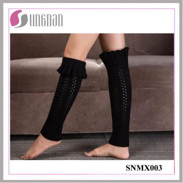 High Quality Bud-Shaped Leg Warmers Knitting Wool Foot Sleeves Socks