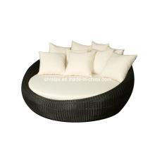 Сада ротанга диван плетеная Патио мебель набор