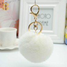 2015 Hot Rabbit Fur Keychain Rabbit Fur Ball Chaveiros