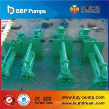 Pompe centrifuge centrifuge submersible verticale de carter de puisard