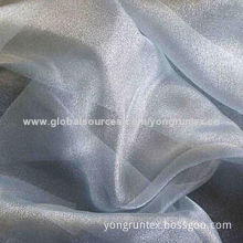 Polyester organdy fabric for wedding dresses