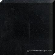Pure black brick tile
