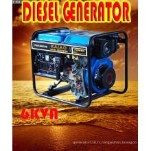 6kVA / 5.5kw Type ouvert Générateur Diesel