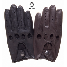 Bestselling men's fashion leather car driving gloves