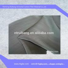 Fournir le type de tissu de fibre de carbone activé BET100-1500g / m2 de tissu de tissu pour l'usage médical