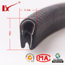 Metal Plate Shape Edge U Channel Protection PVC Seal Strip