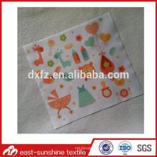 Изготовленная на заказ ткань телефона с логосом цифровой печати, изготовленная на заказ красивейшая ткань microfiber с различным логосом