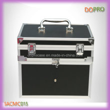 Black Handle Style Locking Aluminum Carrying Case for Nail Polish (SACMC015)