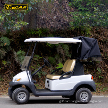 Excar mini golf car with golf bag cover