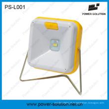 Lâmpada de leitura de mesa Solar portátil LED para iluminação Solar interna