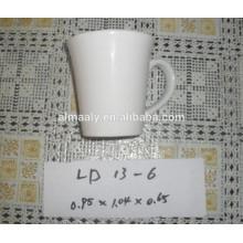 Taza de cerámica barata en stock varios colores y forma