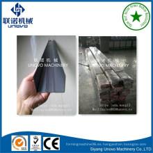 Perfil de acero laminado en frío galvanizado u