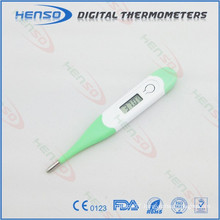 Waterproof clinical thermometer