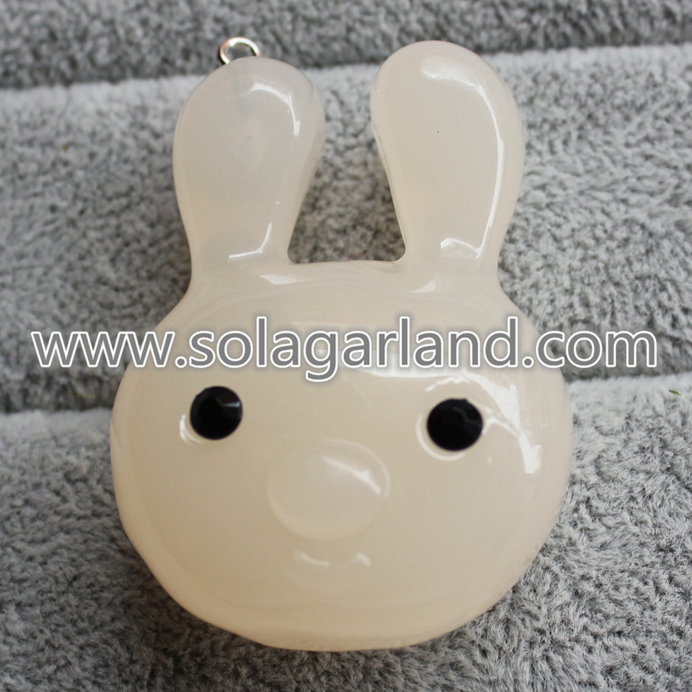 Acrylic Rabbit Beads