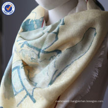 Pure Mongolia High Quality calligraphy New Design Gift Order Jacquard 50% wool +50%SILK Scarf Stole SWW792