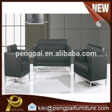 Living room specific use leather sofa