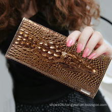 genuine leather fold long cheap chinese wallet bag
