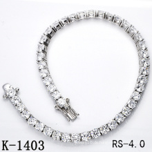 Hotsale Modeschmuck 925 Sterling Silber Tennis Armband (K-1403, K-1404, K-1405, K-1406, K-1407, K-1408)
