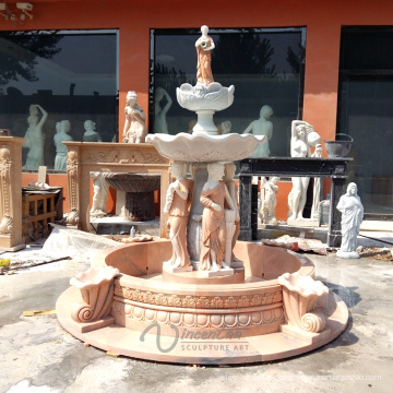 4 Season Lady Marble Water Fountain en venta