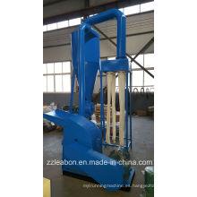 Trituradora de aserrín de madera / aserrín de madera con máquina de molino de martillo ciclón