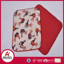 2018 new design microfiber dish drying mat,easily fold dish drying mat,kitchen use dish drying mat