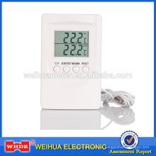 Termómetro digital con CE y ROHS Configuración de alarma de temperatura Prueba de interior y exterior OEM Carrefour TM201