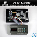 Electronic digital combination safe lock for metal safe box